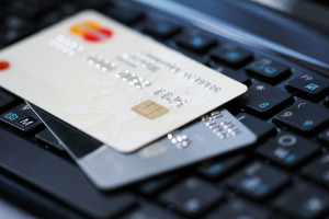 credit cards showing how small business security is at risk