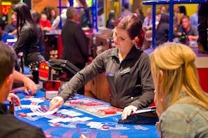 gambling representing security table stakes