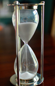 hourglass - the time is ticking for HIPAA audits